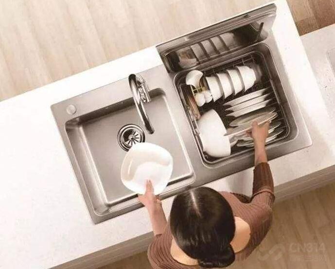 方太这款水槽洗碗机,让厨房生活更轻松!
