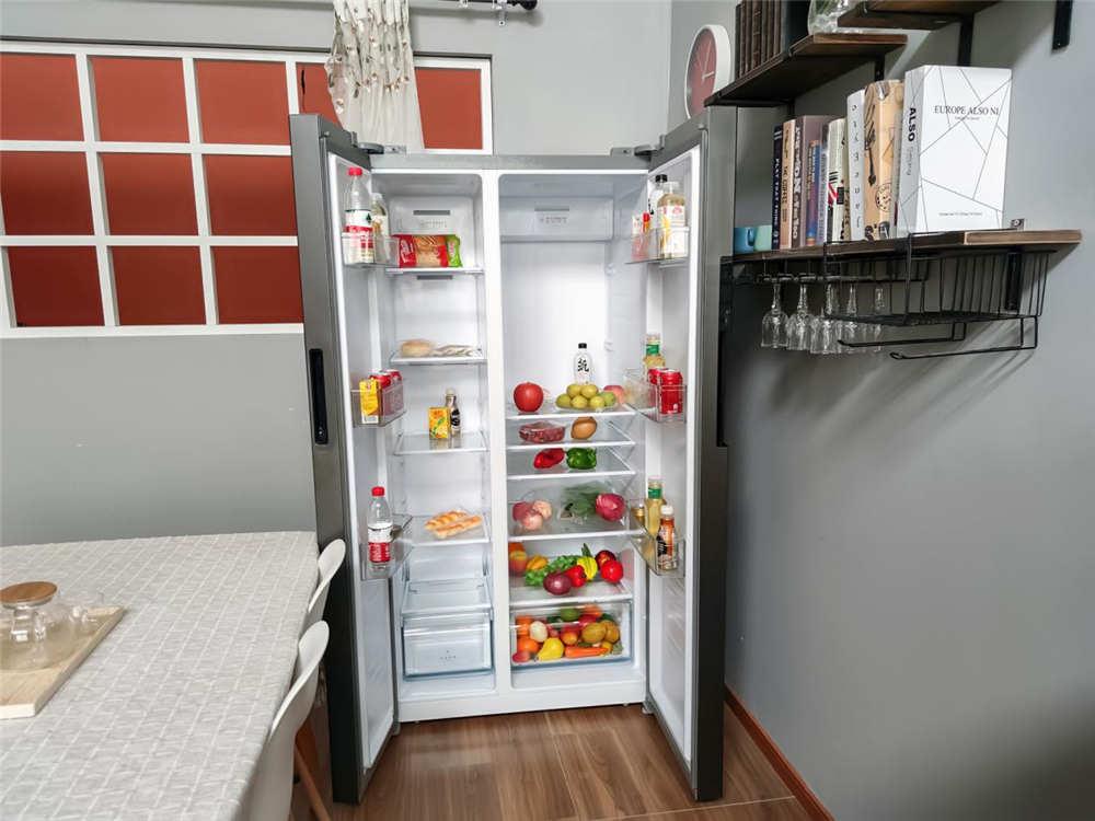 美的606升冰箱评测:西瓜可证明它的优秀