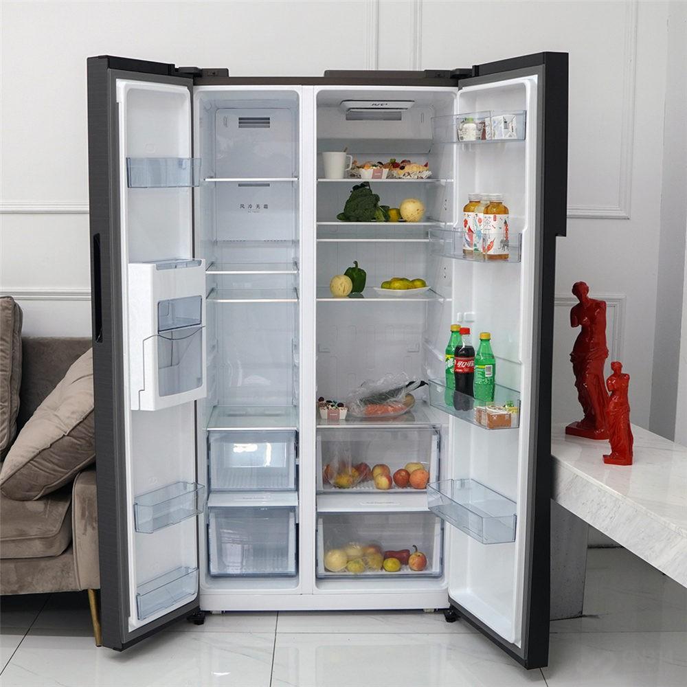 我对新冰箱的制冰设计很满意 真的很享受