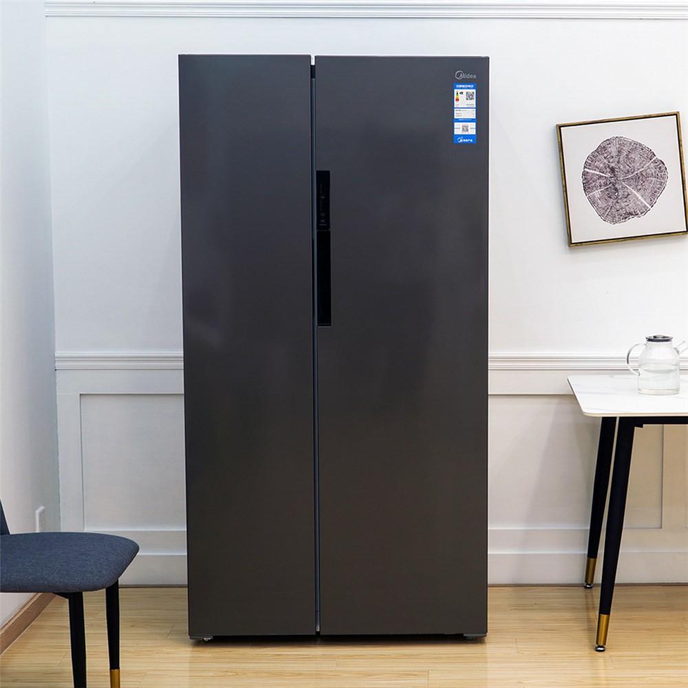 我发现家里新换的这台大冰箱 特别能省电