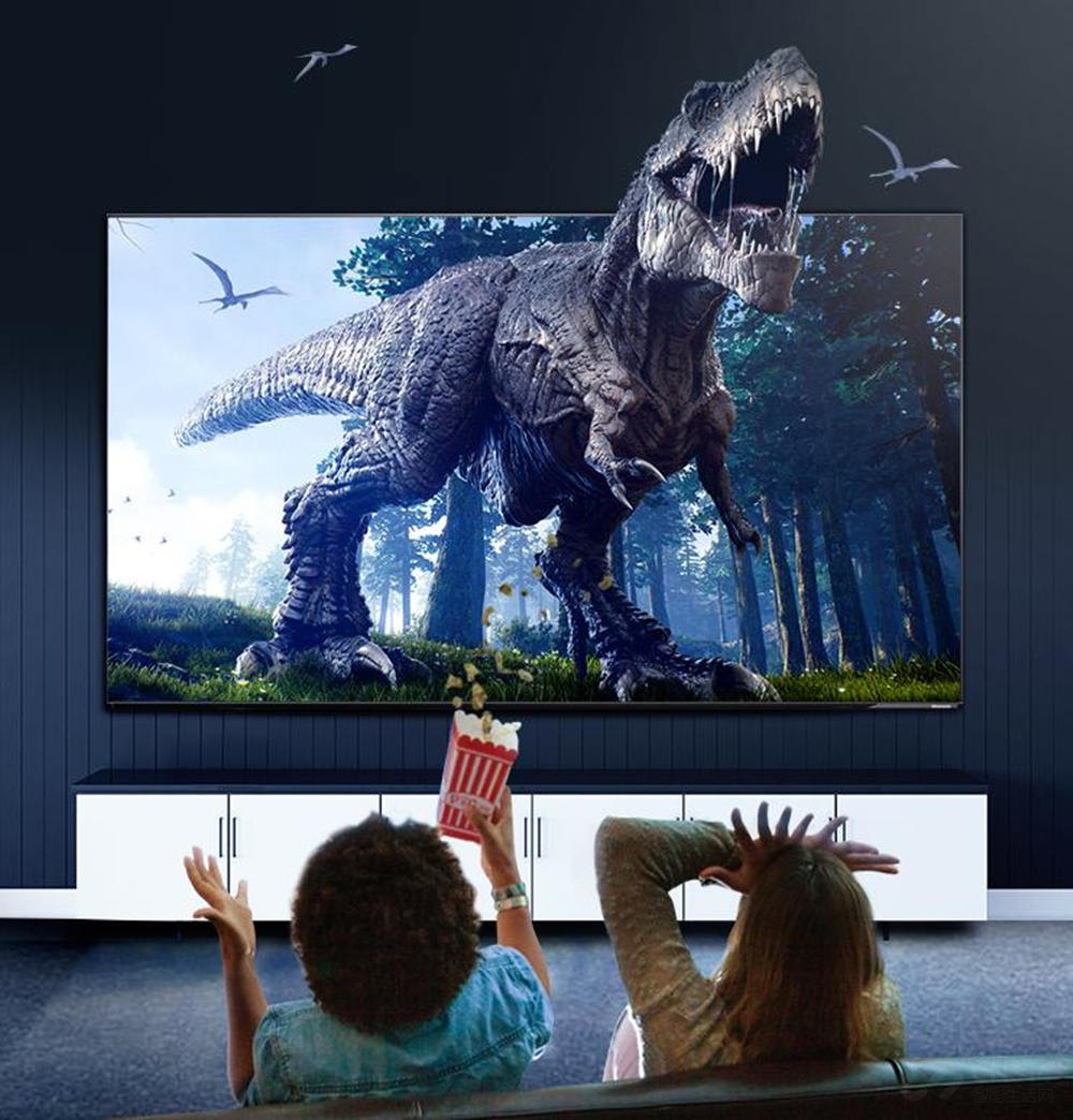 海信自制OLED模组电视 在家也能看IMAX