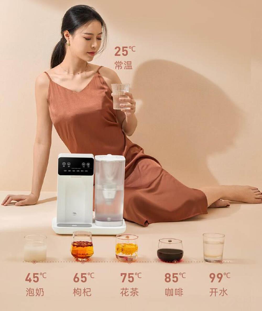 更方便喝热水 集米D1即热饮水机有多好用