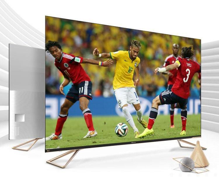超薄全面屏电视 海信H55E7A内外兼修!