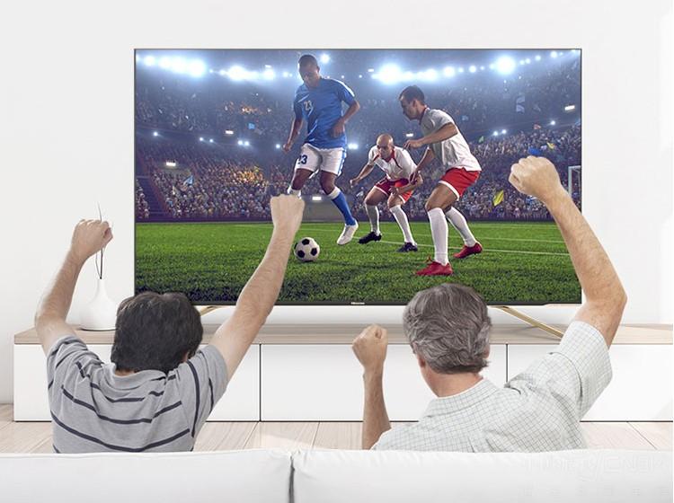 想要世界杯看得爽,海信55寸电视来帮您