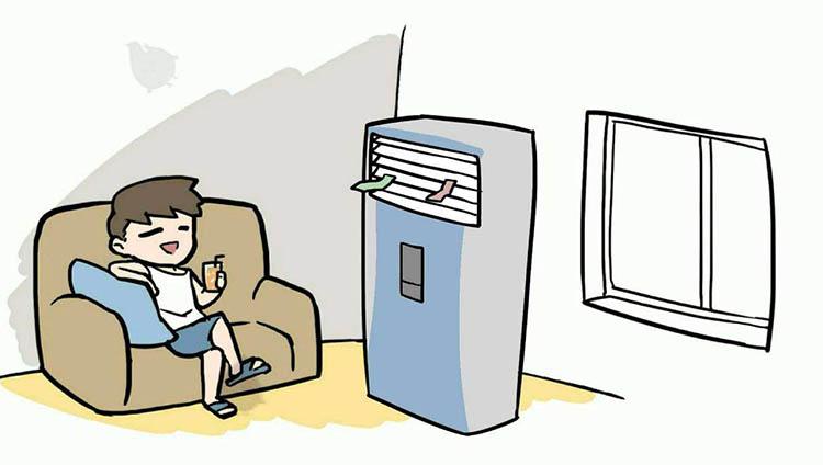 出门五分钟,流汗两小时 空调前来拯救你