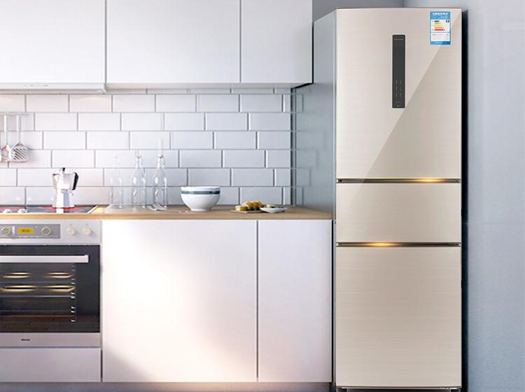 小户型储存食物好选择 选经济三门冰箱