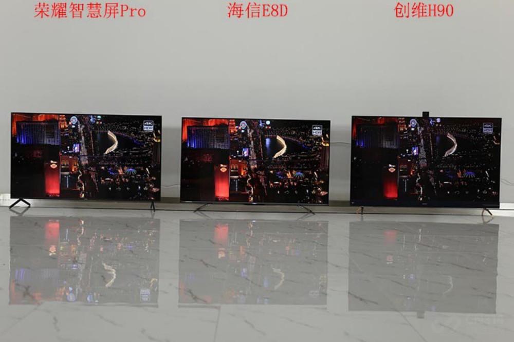 三款摄像头电视对比评测:谁才是未来电视