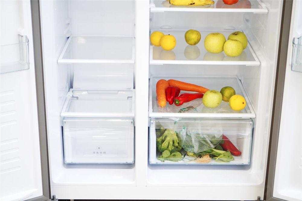 为测试新冰箱的保鲜锁水 我用生菜做实验