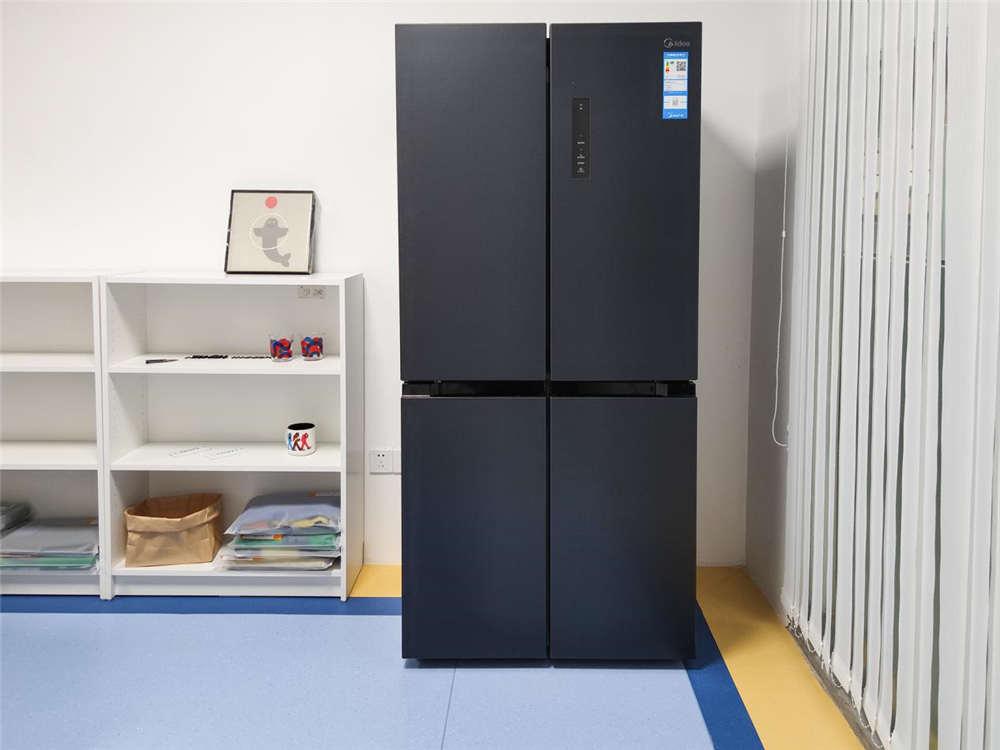 为了测试美的478升冰箱净味 我找来了豆汁