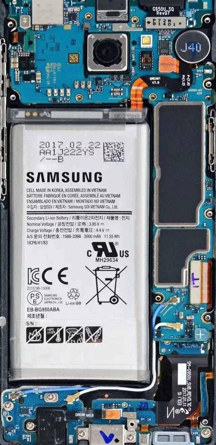 三星S9外观秒苹果X 内部做工却学华强北?