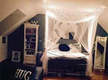 我的梦幻房间简笔画