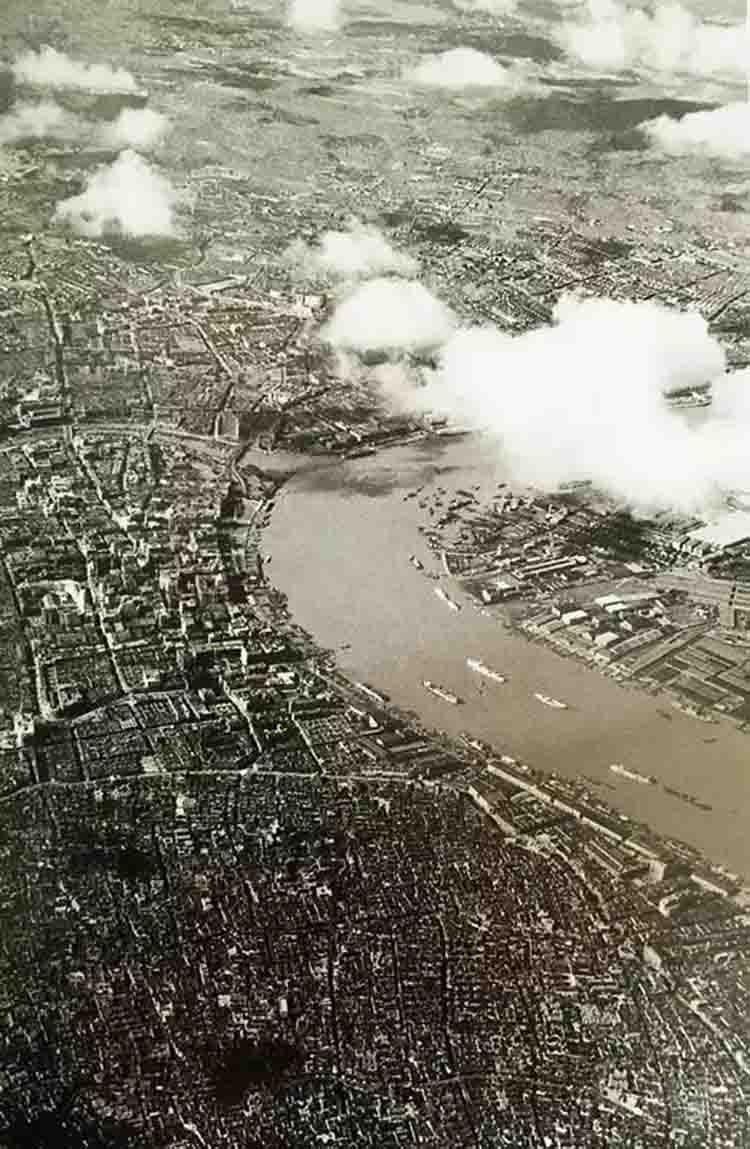 通过航拍看80年前的祖国 蜕变的不止山河